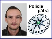 Pohřešovaný Martin Kubík.