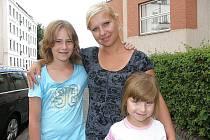 Maruška Škeříková s matkou.