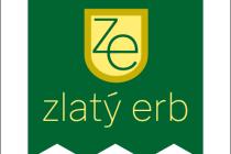 Zlatý erb, logo soutěže.