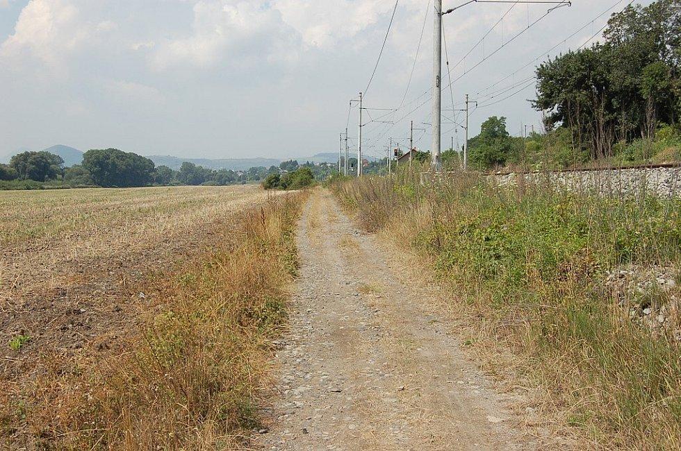 Cyklostezka z Roudnice přes Hrobce a Křešice do Litoměřic