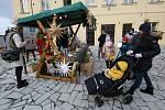 Adventní trhy na Husově náměstí v Roudnici nad Labem