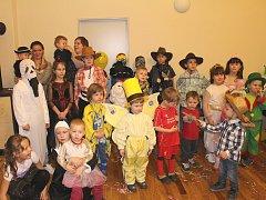 V opraveném kulturním domě se konal dětský karneval