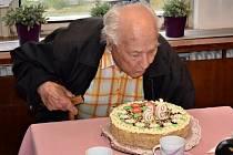 Jaroslav Černý oslavil 95. narozeniny
