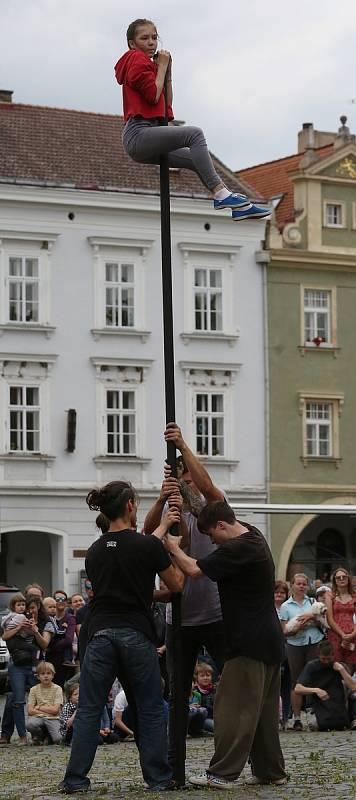 Cirk La Putyka v Litoměřicích.
