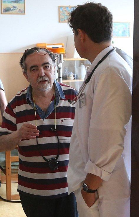 Natáčení v litoměřické nemocnici