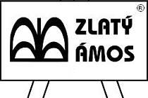 Zlatý Ámos - logo.