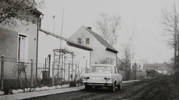 Snímek ze 70. let.