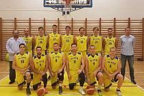 První tým Slavoje BK Litoměřice.