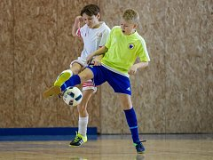 Zimní halová liga UKFS mladších žáků v Roudnici nad Labem