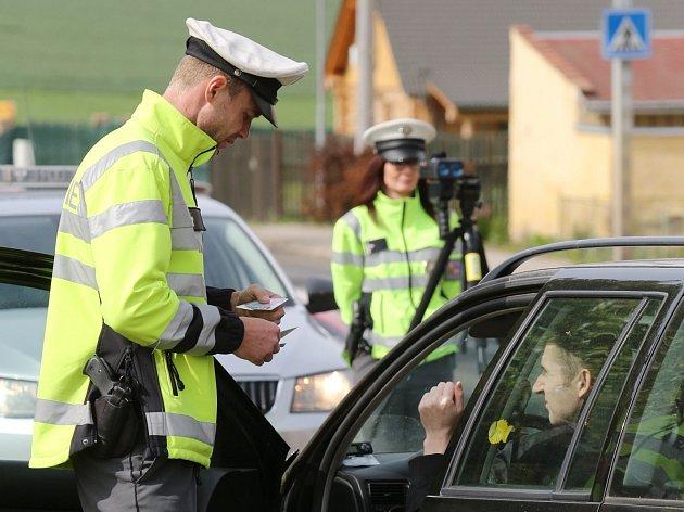 Policejní kontroly na Lovosicku