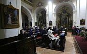 Litoměřice, církev, diecézní setkání mládeže, stínové divadlo