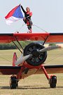 Sobotní program 14. ročníku Memorial Air Show v Roudnici nad Labem.