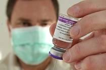 Vakcína proti prasečí chřipce.