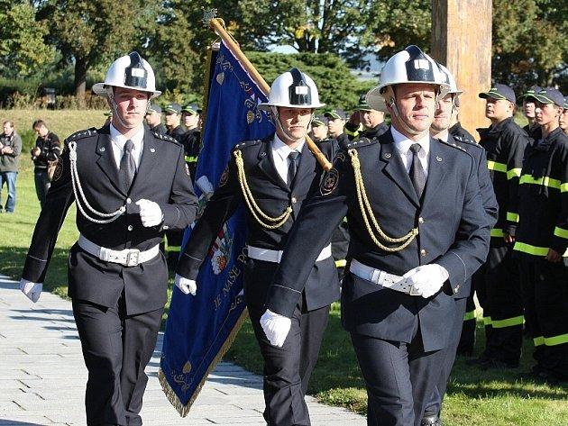 Přísaha nových hasičů v Terezíně