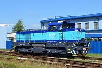 Lovosická Lovochemie doplnila svou flotilu posunovacích lokomotiv o řadu 741.7 z produkce společnosti CZ Loko.
