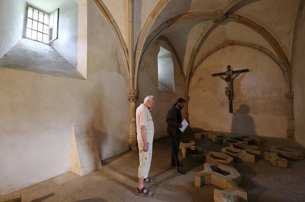 Noc kostelů v roudnickém kostele Narození Panny Marie, klášteře a klášterním gotickém abitu