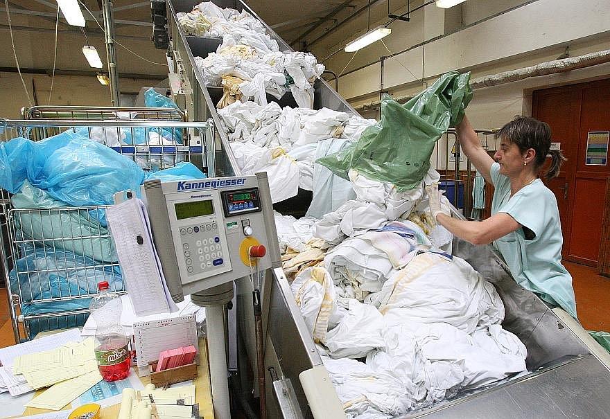 Prádelna ve Štětí.