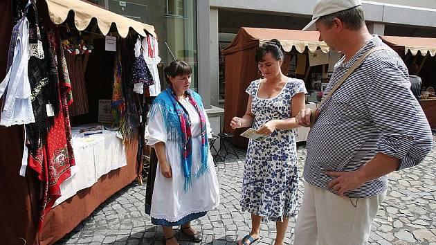 Řemeslné trhy v Litoměřicích.