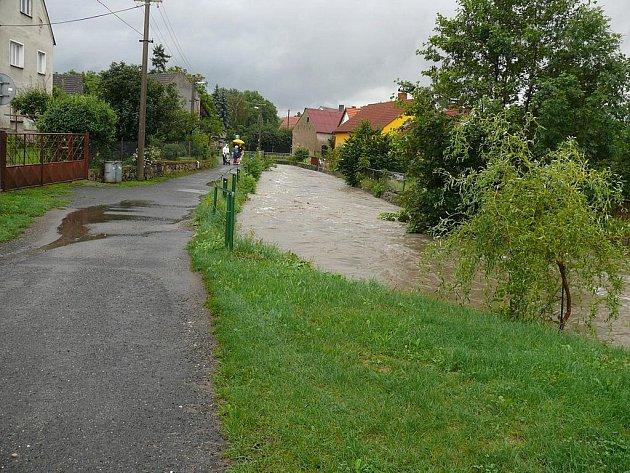 Povodně - srpen 2010