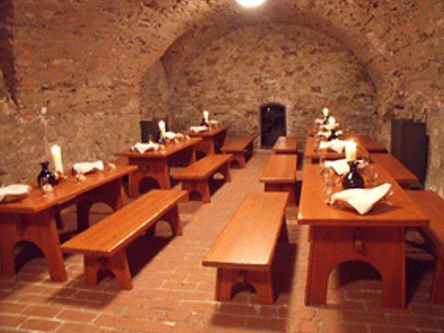 Románský hrad v Roudnici nad Labem