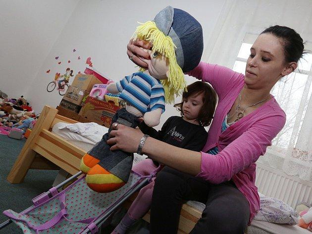 Den otevřených dveří v Azylovém domě pro ženy a matky s dětmi v Lovosicích.