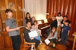 Zpívání koled v Dětském domově Litoměřice