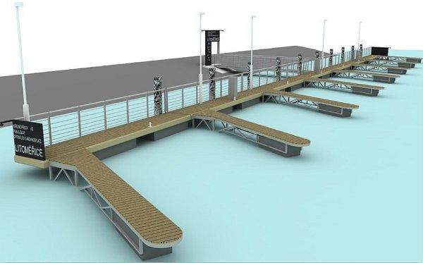 Budoucí podoba přístavišť vLitoměřicích.