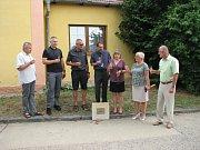 Slavnostní zahájení výstavby kanalizace v Počaplech.