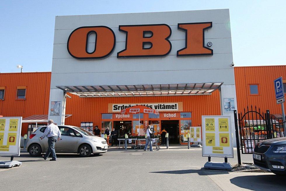 Hobby markety jsou opět otevřené