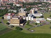 Městská nemocnice v Litoměřicích.