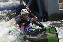 Mistrovství ČR v jízdě kajaků na divoké vodě v Roudnici nad Labem