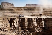 Rallye Dakar v Saúdské Arábii.