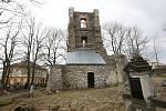 Současný stav historické zvonice.
