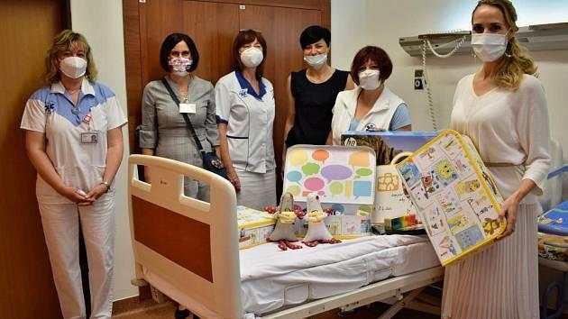 Litoměřická porodnice se stala součástí projektu Život v kufříku