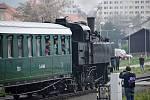 Parní lokomotiva Ventilovka na Švestkové dráze
