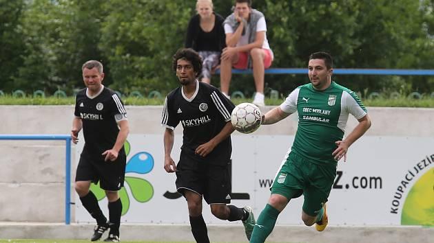 Fotbalový zápas mezi Lovosicemi a Modlany, krajský přebor 2018/2019