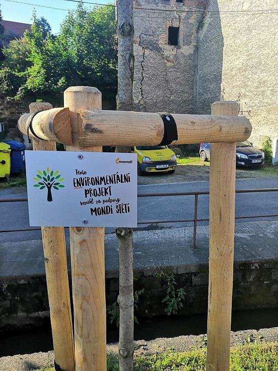 V minulém ročníku Enviromentální výzvy papírna podpořila sedmnáct projektů. Na revitalizaci veřejných prostranství čerpalo město Liběchov.