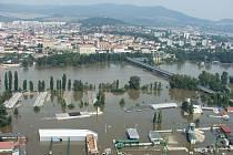 Povodně 2002. Litoměřice