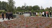 Noví hasiči z Ústeckého kraje složili na Národním hřbitově v Terezíně služební přísahu.