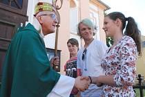 Z Litoměřic do arcidiecéze Hnězdno autobusy společně odcestovalo 180 mladých poutníků. Skupinu doprovázeli čtyři kněží. Další poutníci z litoměřické diecéze se k nim připojí za týden v Krakově.