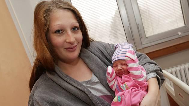 Jako druhé dítě narozené v novém roce 2020 byla holčička Adélka Dvořáková a narodila se mamince Veronice Kováčové z Litoměřic