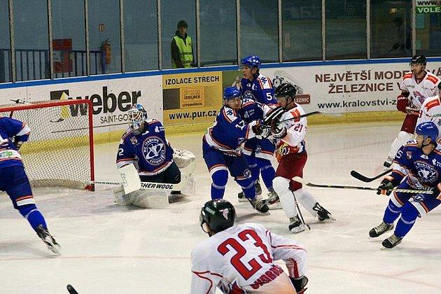 Stadion Litoměřice - HC Olomouc 2:1p, 2. kolo 1. ligy, sobota 17. září 2011.