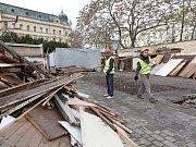 Současný stav městské tržnice.