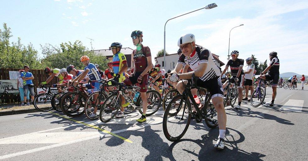 Cyklistický závod Memoriál Vladimíra Urbana staršího ve Vědomicích