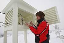 Meteorologická stanice v Doksanech