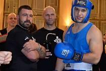 Boxer Petr Trnka z Bursa Gym Mlékojedy.