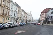 Palachova ulice v Litoměřicích
