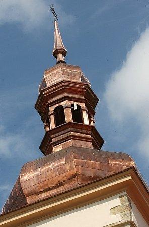 Opravený kostel vSiřejovicích