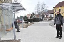 Nová autobusová zastávka U Kapličky
