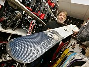 Půjčovna lyží a dalšího zimního vybavení v Litoměřicích má napilno